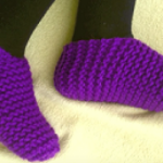 Loom Knit Toe Up Socks Pattern
