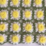 Flower Loom Baby Blanket