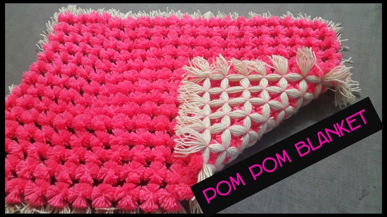 Pom Pom Loom Baby Blanket Pattern Knitting Things