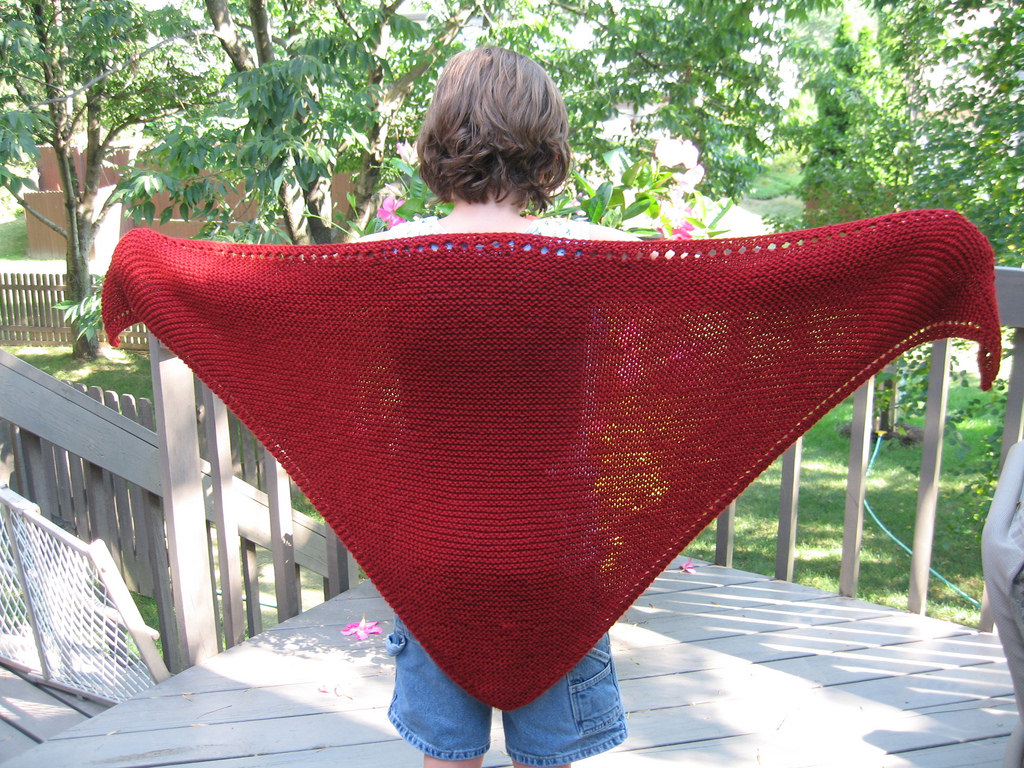 Prayer Shawl Knit Pattern