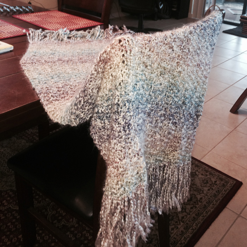 Simple Prayer Shawl Knitting Pattern