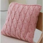 Free Cable Knit Pillow Pattern
