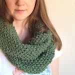 Infinity Scarf Knitting Pattern for Beginners