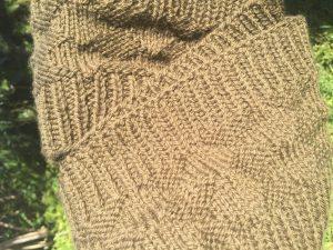 Mens Infinity Scarf Knitting Pattern