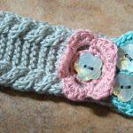 Baby Girl Headband Knitting Pattern