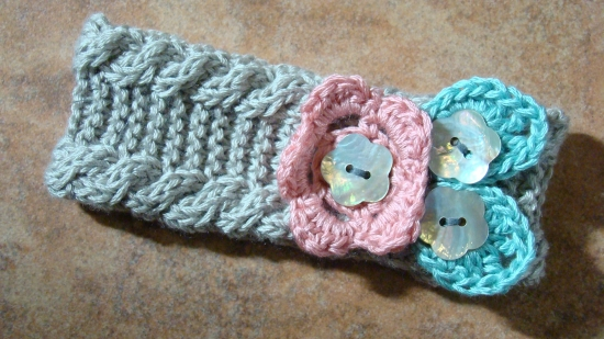 Baby Girl Headband Knitting Pattern