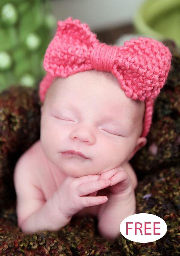 Baby Headband Knitting Pattern
