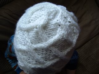 Knitted Hat That Looks Like a Brain