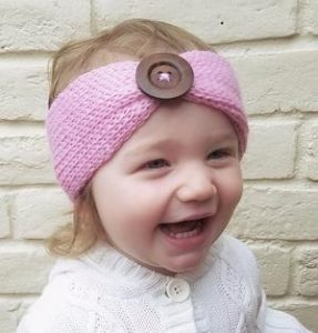 Knitted Headbands for Babies