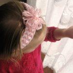 Loom Knit Baby Headband