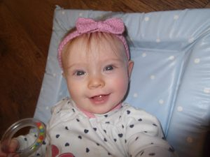 Simple Knit Baby Headband for Beginners