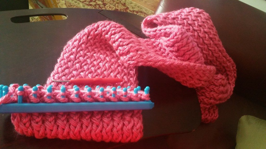 Easy Loom Knit Scarf Pattern