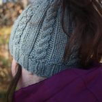 Knit Ponytail Hat Pattern