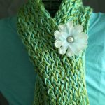 Long Loom Knitting Scarf Patterns
