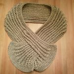 Loom Knit Keyhole Scarf Pattern
