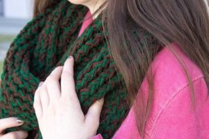 Loom Knitting Scarf Patterns for Beginners