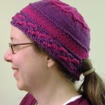 Low Ponytail Knit Hat Pattern