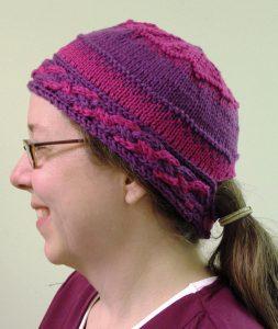 Low Ponytail Knit Hat Pattern