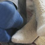 Womens Cable Knit Socks