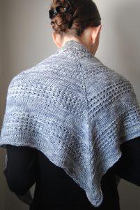 Beginner Splendid Triangle Shawl Knitting Patterns