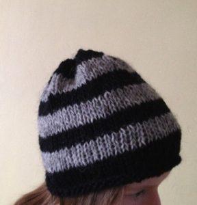 Children's Slouchy Hat Knitting Pattern