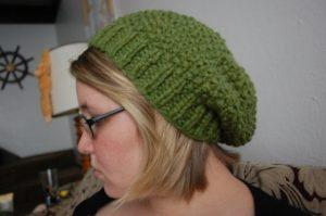 Chunky Knit Slouchy Hat Pattern