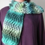Chunky Lace Scarf Knitting Pattern