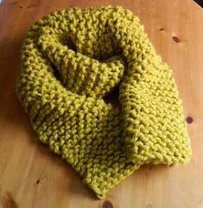 Chunky Scarf Knitting Patterns for Beginners