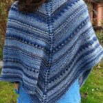 Easy Knit Triangle Shawl Pattern Free