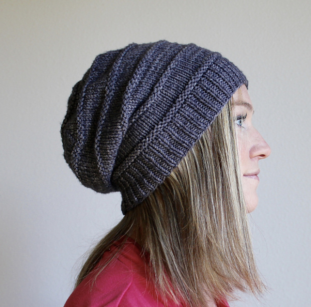 Easy Knitting Slouchy Hats Pattern for Beginners