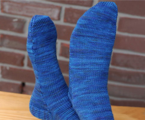 Free Knitted Sock Patterns on Circular Needles