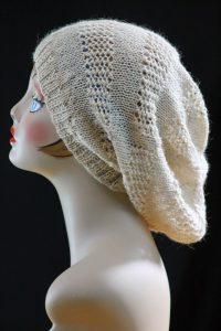Free Slouchy Hat Knitting Pattern Straight Needles