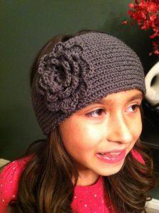How to Knit a Headband Ear Warmer on a Loom