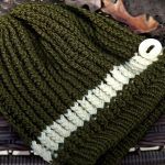 How to Round Loom Knit a Slouchy Beanie Hat