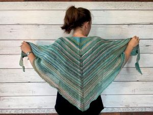 Knitted Shawl Patterns Triangle