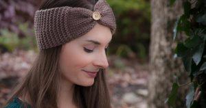 Loom Knit Headband Wrap