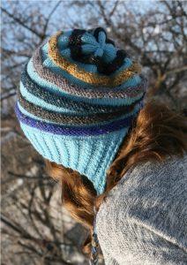 Loom Knit Slouchy Hat