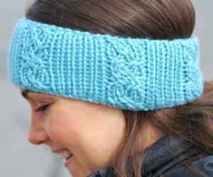 Round Loom Knit Headband
