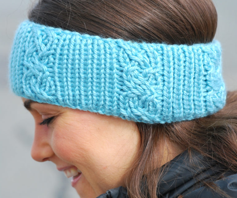 Round Loom Knit Headband