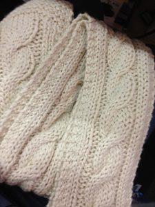 Simple Knit Scarf Pattern Chunky Yarn