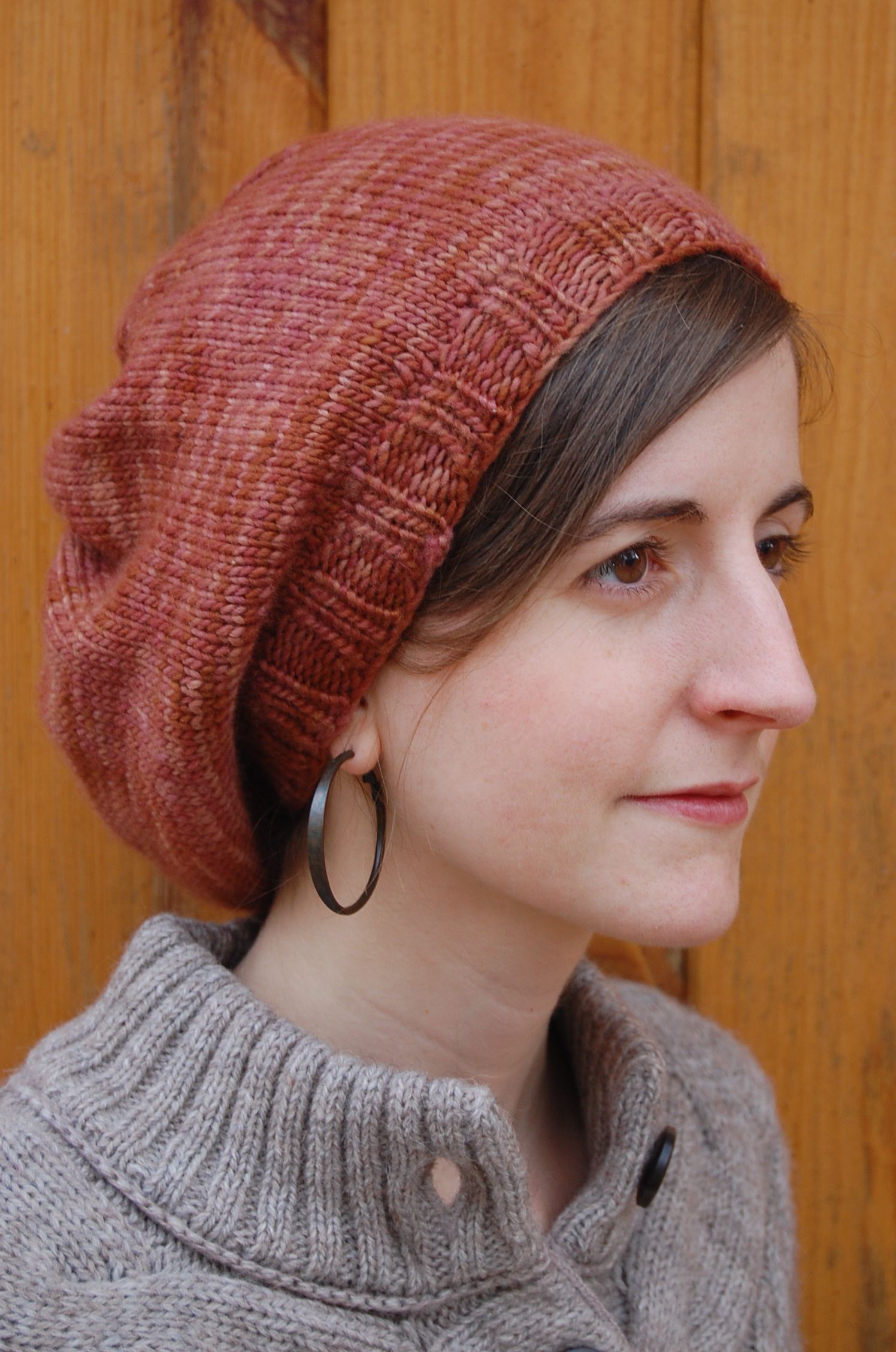 Women's Slouchy Knit Hat
